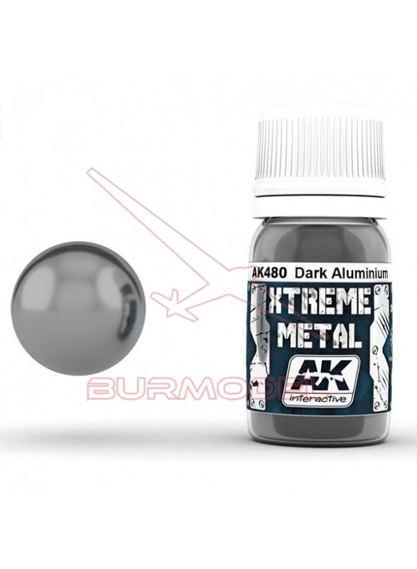 Aluminio oscuro. Xtreme Metal