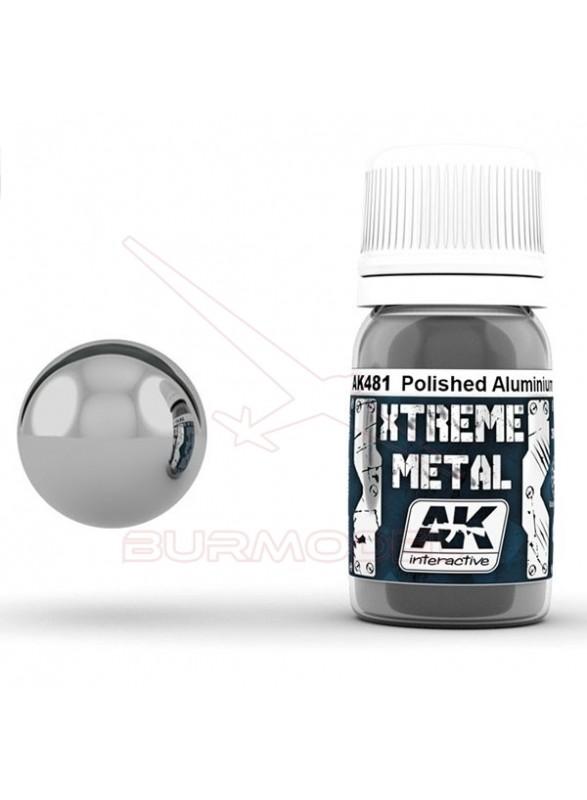 Aluminio pulido Xtreme Metal. Bote 30 ml