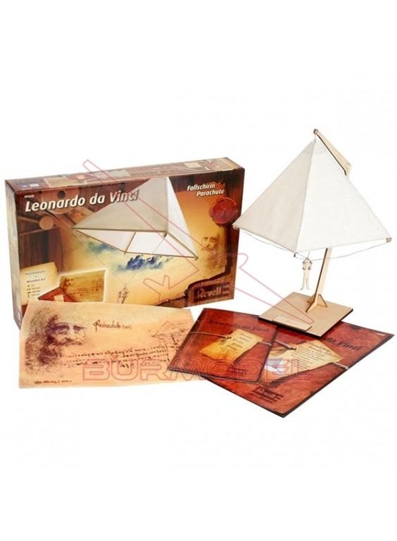 Paracaidas. Colección Leonardo Da Vinci