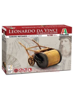 Maqueta tambor mecánico, L. Da Vinci