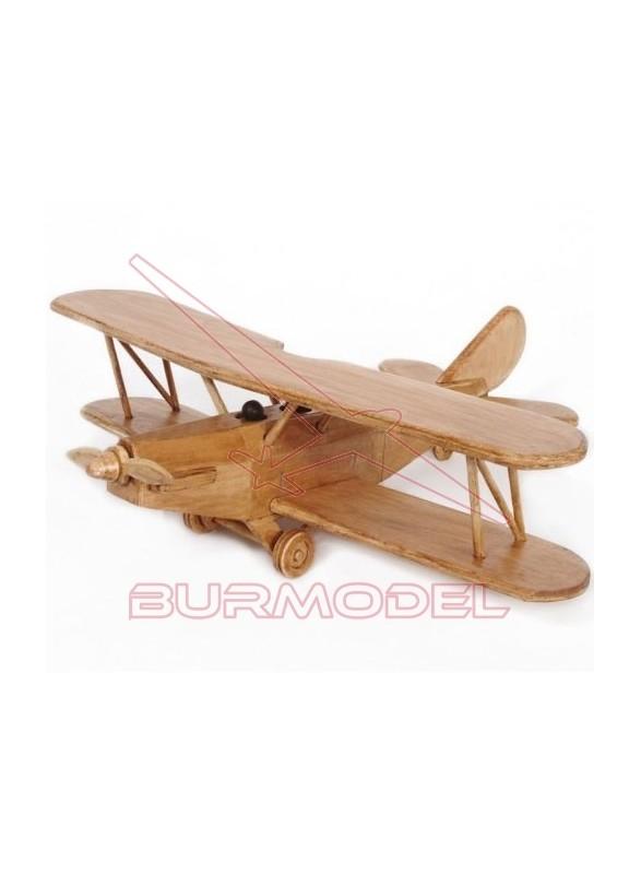 Construcción avión biplano