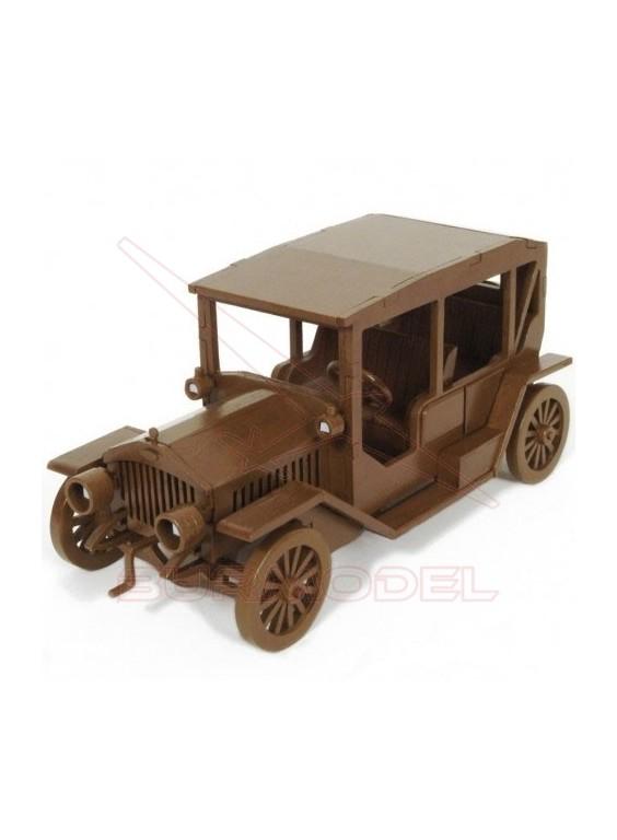Maqueta de madera para montar coche clásico