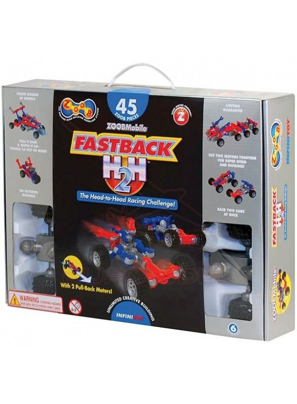 Kit Fastback H2H 45 pzs para montar 17 vehículos