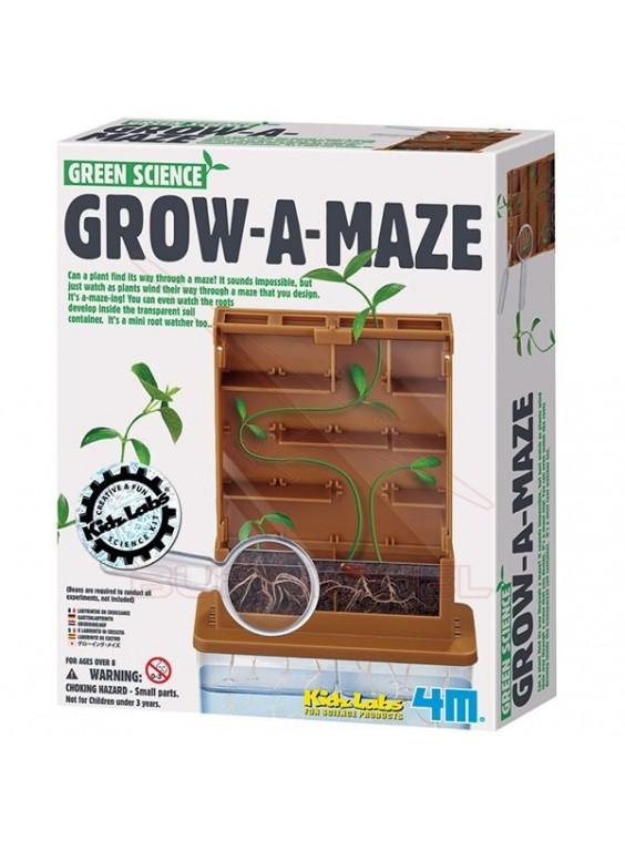 Kit de ciencia Grow a Maze. Laberinto de cultivo