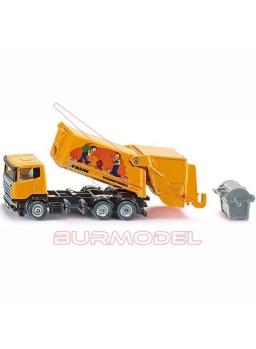 Maqueta camión basura 1:87