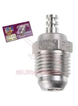 Bujía P4 Turbo super caliente