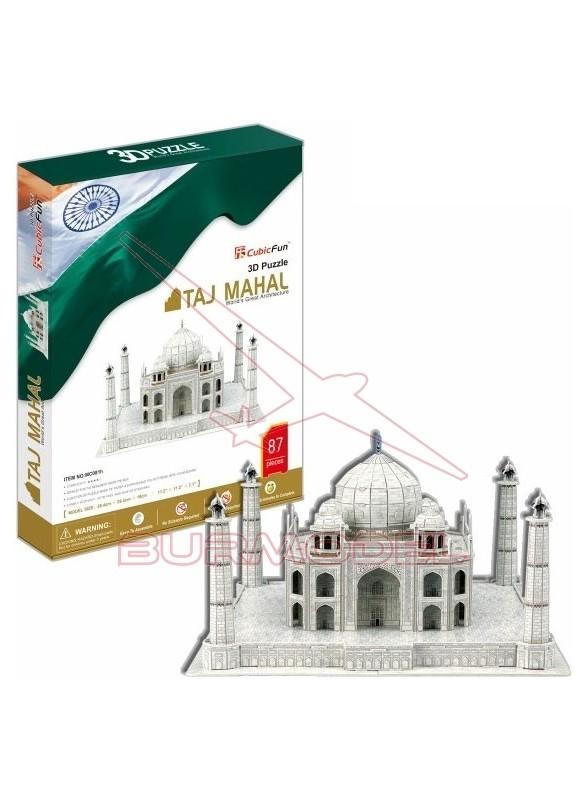 Construcción 3D Taj Mahal