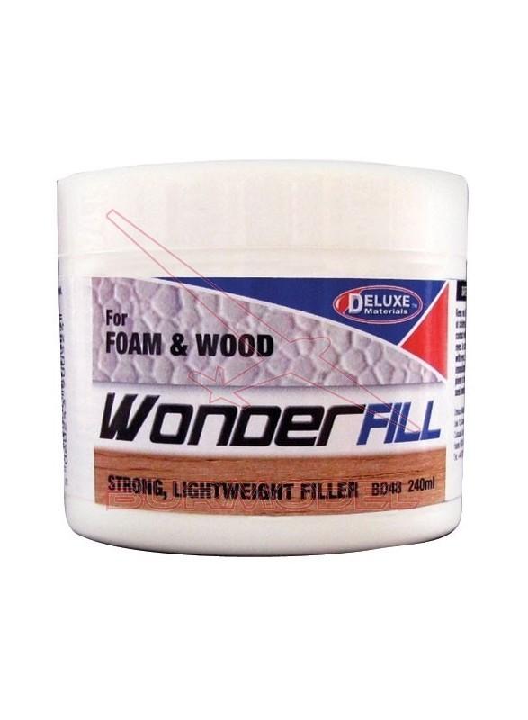 Masilla de relleno para madera. 240 ml