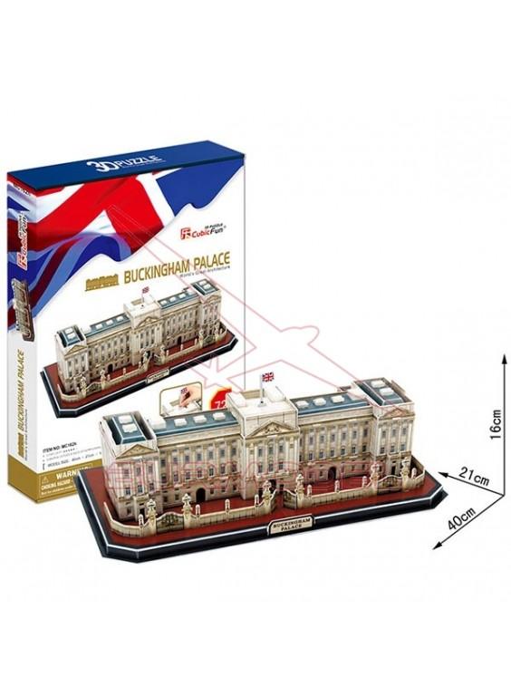 Puzzle 3D del Palacio de Buckingham