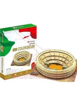 Puzzle 3D Coliseo de Roma. 84 piezas