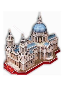 Puzzle 3D Saint Paul´s Cathedral. 107 piezas