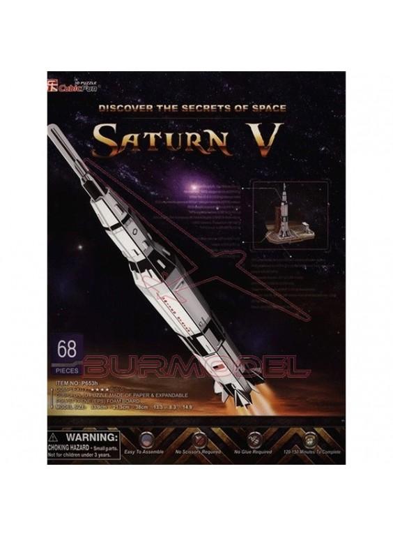 Puzzle 3 dimensiones Saturn V