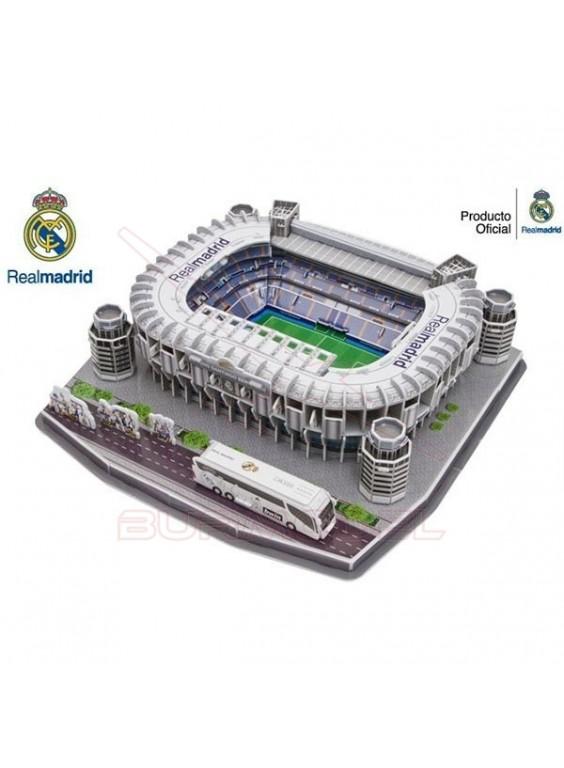 Puzzle 3D Estadio Santiago Bernabeu. Real Madrid