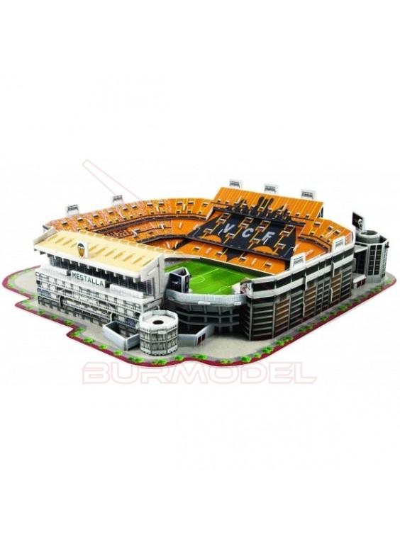 Puzzle 3D Estadio Mestalla Valencia CF