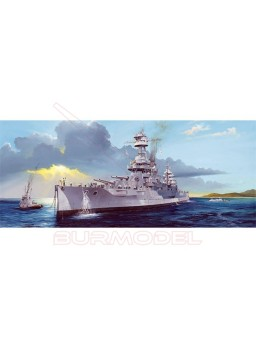 Maqueta USS New York BB-34. Escala 1/350
