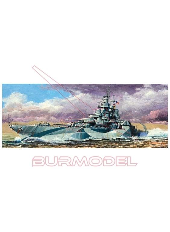 Maqueta Trumpeter USS West Virginia BB-48 1945