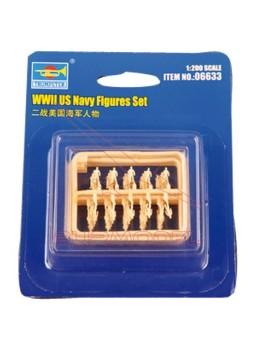 Set de figuras navales 2ª Guerra Mundial
