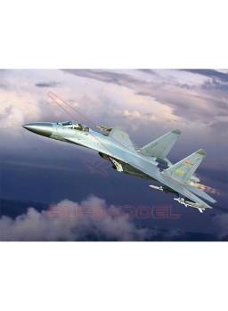 Maqueta Trumpeter Plaaf J-11B fighter 1:144