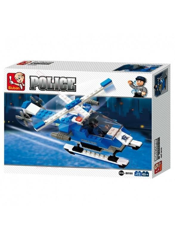 Maqueta infantil helicóptero Police