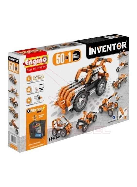 Inventor set. 50 modelos con motor