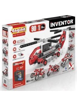 Inventor set. 90 modelos con motor
