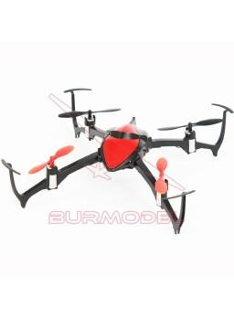 Minicuadricóptero luz led RC