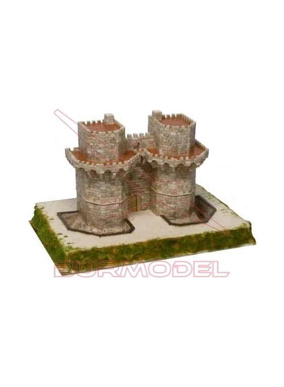 Maqueta ladrillos Torres de Serrano