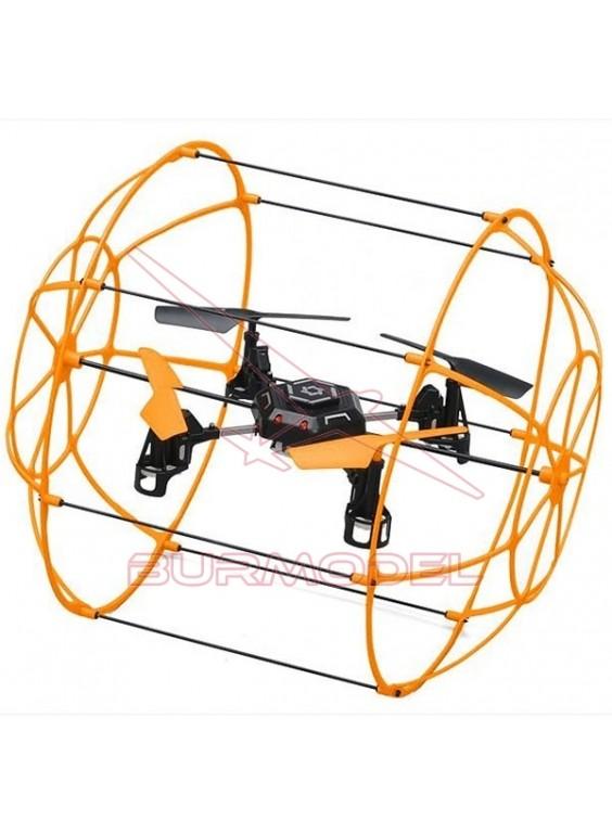 Dron con protecciones Sky Walker