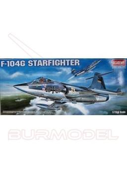 Maqueta avión F-104G Starfighter 1:72