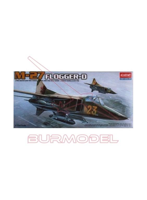 Maqueta avión Mig-27 D Flogger 1:72