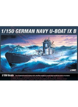 German U-Boot Type IXB 1/150