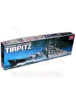 Tirpitz para montar a escala 1/800