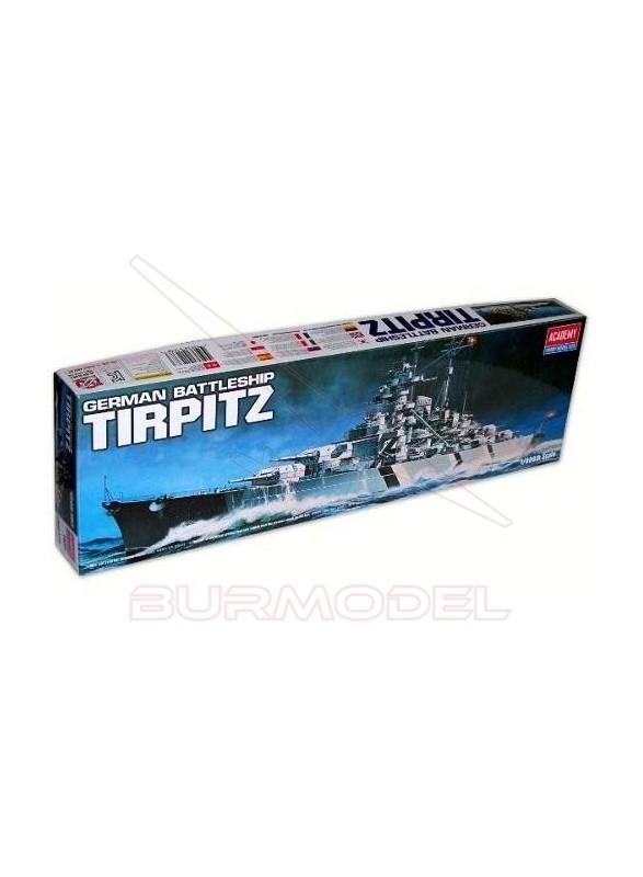 Tirpitz para montar a escala 1/350