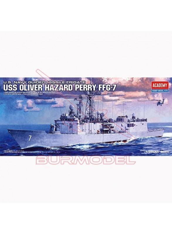 Fragata USS Oliver Hazard 1:350