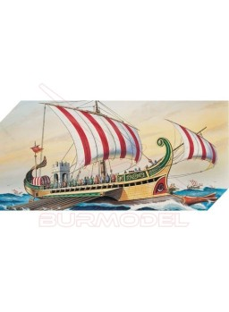 Barco romano B.C.50 Escala 1/72