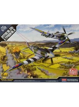 Maquetas Spitfire MK 14C +Typhoon MK IB 1/72