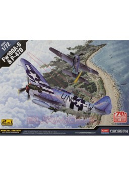 Maquetas P-47D & FW190A-8 70 Aniversario Normandía