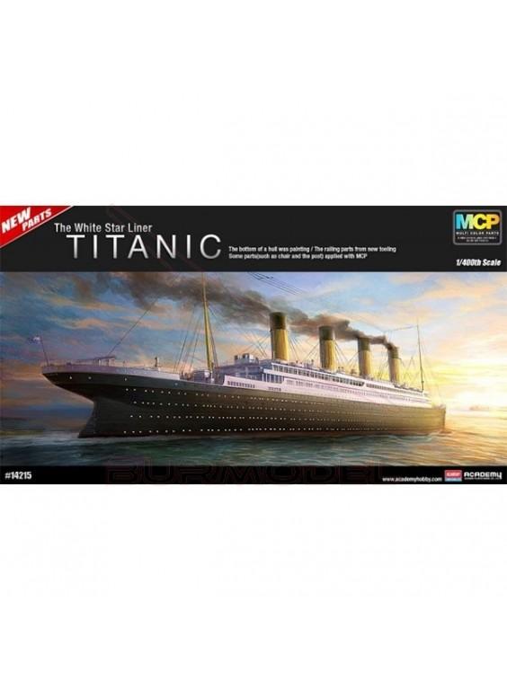 "Titanic ""White Star Liner"" (MCP) escala 1/400"