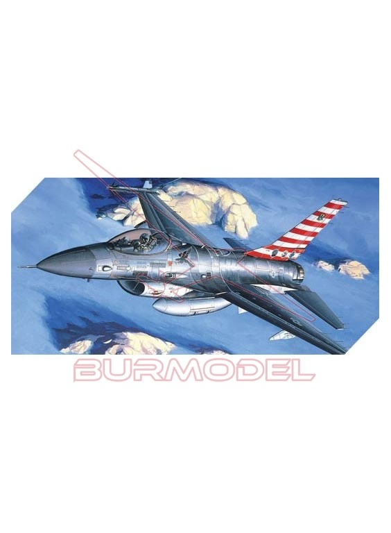 Avión Fighting Falcon F-16A/C 1:48