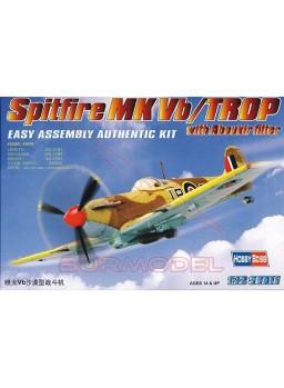 Maqueta avión militar Spitfire MK Vb/TROP 1:72