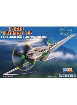 Maqueta avión P-51D Mustang IV 1/72