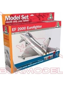 Kit modelismo avión Eurofighter con pinturas