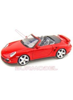 Replica montada Porche 911 Turbo Cabriolet 1:24