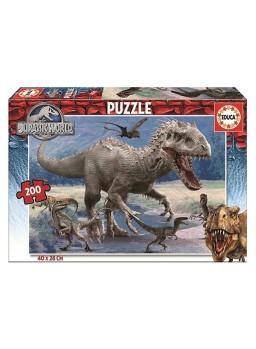 Puzzle 200 piezas Jurassic World