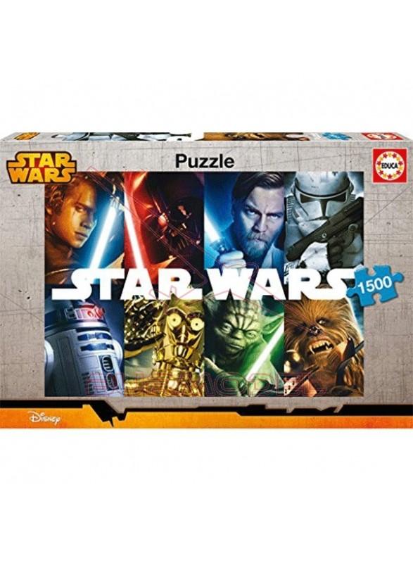 Puzzle 1500 piezas Star Wars