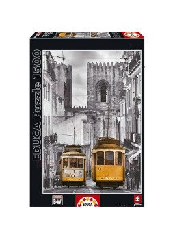 Puzzle 1500 piezas Barrio de la Alfama