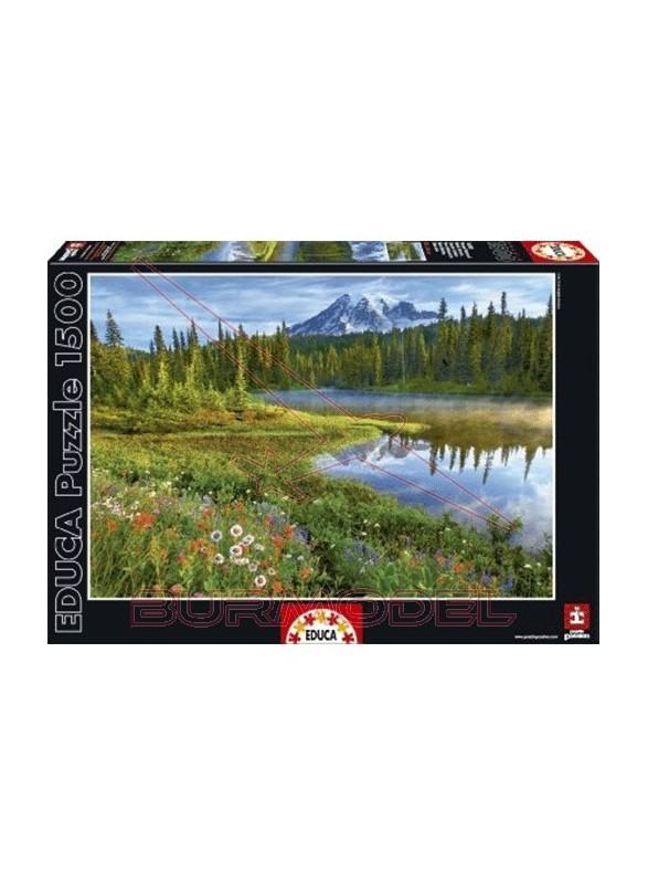Puzzle 1500 piezas Parque Nacional Monte Rainer (U