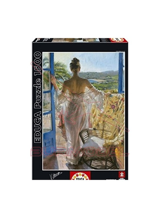Puzzle 1500 piezas Mediterraneo, V. Romero