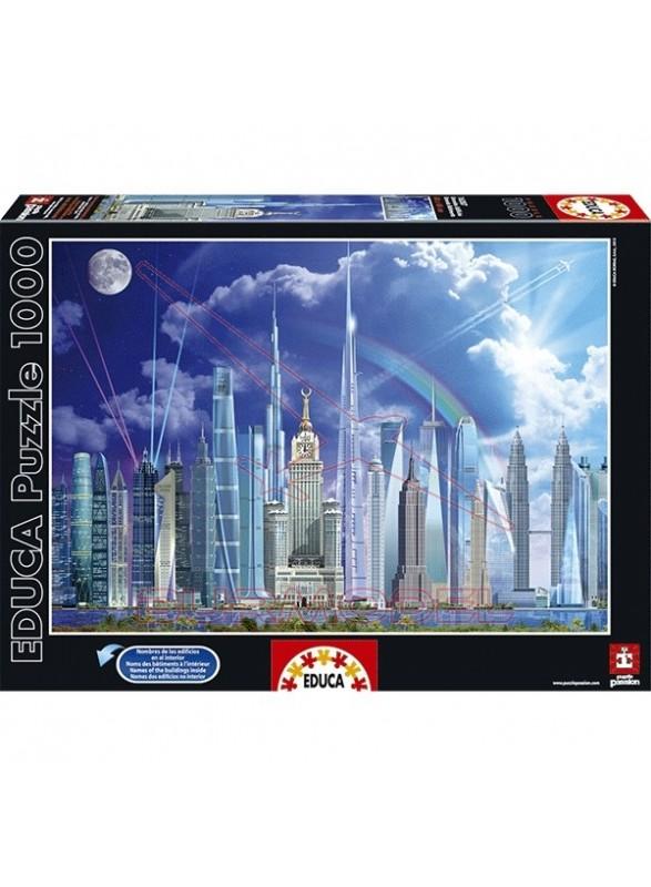 Puzzle 1000 piezas grandes edificios
