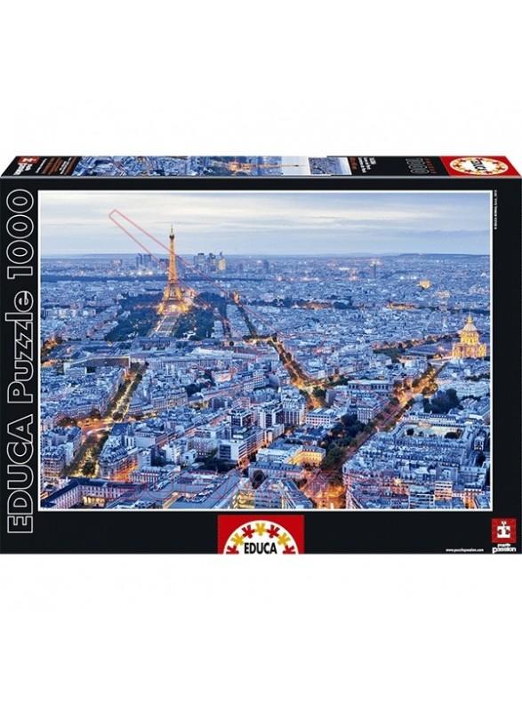 Puzzle 1000 piezas Luces de París
